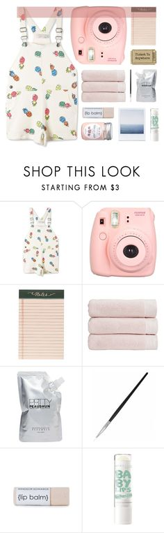 """Road trip"" by mint-green-macaroonn ❤ liked on Polyvore featuring STELLA McCARTNEY, Fujifilm, Rifle Paper Co, Christy and Prtty Peaushun"