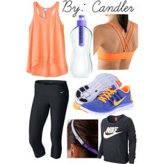 Workout outfits, workout clothing, workout attire, workout wear, sporty out Sporty Outfits, Athletic Outfits, Athletic Wear, Cute Outfits, Gym Outfits, Athletic Clothes, Fitness Outfits, Fitness Wear, Workout Attire