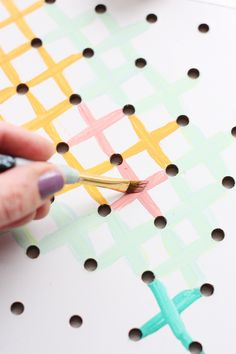 New craft room pegboard diy cross stitch 24 ideas You are in the right place about pegboard ideas closet Here we offer you the most beautiful pictures about the pegboard ideas organization you are looking for. When you examine the New craft room pe. Cross Stitch Art, Cross Stitching, Cross Stitch Embroidery, Embroidery Patterns, Wedding Cross Stitch, New Crafts, Easy Crafts, Wal Art, Diy Art Projects
