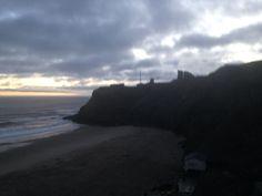 Tynemouth king edwards bay beach 7.45 am 17 th December 2014 www.tynemouthwebcam.com