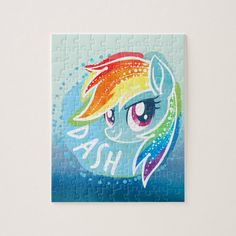 My Little Pony Rainbow Dash Watercolor Jigsaw Puzzle , My Little Pony Puzzle, My Little Pony Movie, My Little Pony Pictures, Disney Jigsaw Puzzles, Jigsaw Puzzles For Kids, My Little Pony Backpack, Custom Playing Cards, My Little Pony Merchandise, Childrens Gifts