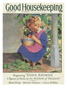 Good Housekeeping, July 1933 Print at Art.com