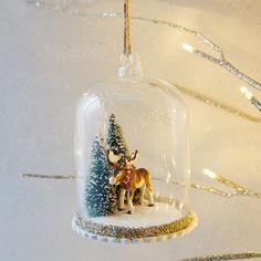 Rachel Kozlowski Cloche Ornament - Moose | West Elm