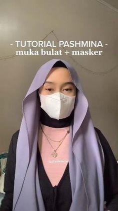 Stylish Hijab, Hijab Casual, Ootd Hijab, Simple Hijab Tutorial, Hijab Style Tutorial, Street Hijab Fashion, Muslim Fashion, Pashmina Hijab Tutorial, Mode Turban