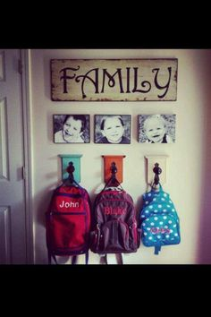 Organisation - It's not exactly my friend but when I have a family having stuff like this would definitely help!