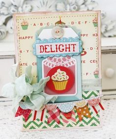 Another SWEET card by Melissa Phillips.    Delight_meliphillips1
