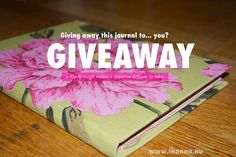Giveaway on iHanna's blog RIGHT NOW #win #artjournal