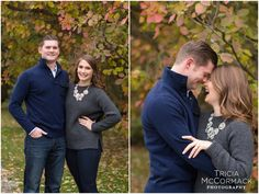 Tanglewood October Engagement Session - Tricia McCormack Photography