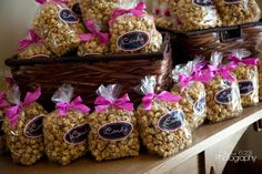 Caramel Corn favors (iCandy Gresham, OR/Photography: Studio 623)
