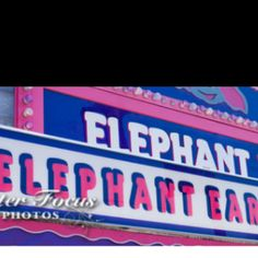 Here's a recipe for elephant ear I discovered  What you'll need: Tortillas (uncooked) Oil for deep frying Sugar Cinnamon    First, deep fry a tortilla til it's brown on both sides (apx 10 seconds on each side)  Then on a plate mix sugar and cinnamon and put the fried tortilla into the cinnamon sugar mix and press it so it gets coated, flip and do the same.  Enjoy!