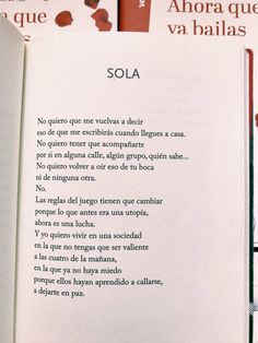 Miguel Gane Poetry Quotes, Book Quotes, Quotes En Espanol, Love Phrases, More Than Words, Study Motivation, Spanish Quotes, Girls Be Like, Woman Quotes
