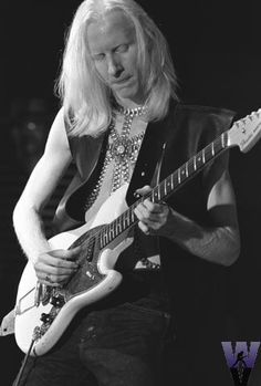 "Johnny Winter took the blues and fused it with Rock n Roll. His brother Edgar famously wrote the song ""Frankenstein""."