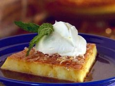 Recipe Coconut Flan Puerto Rico... Really good. I modified the recipe a little bit and I liked it better.