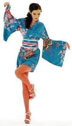 Sea Blue Kimono