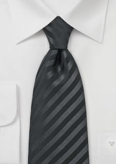 Schwarze Trauer-Krawatte
