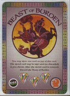 Fantastiqa: Beast of Burden Promo Cards, 8.0 BGG rating.