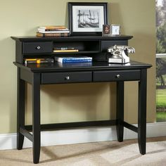 Home Styles Bedford Laptop Desk With Optional Hutch