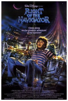 Flight of the Navigator 27x40 Movie Poster (1986)
