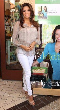 Eva Longoria. I own her cook book! :)