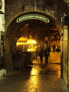 Borough Market, London. by danny mclaughlin, via Flickr