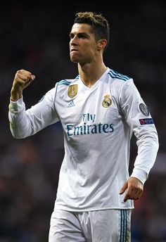 Cristiano Ronaldo celebrates at the end of the UEFA Champions League Quarter Final scond leg match between Real Madrid and Juventus. Cristiano Ronaldo Haircut, Real Madrid Cristiano Ronaldo, Cristino Ronaldo, Cristiano Ronaldo Juventus, Barcelona E Real Madrid, Real Madrid Kit, Portugal National Football Team, Ronaldo Photos, Uefa Champions League