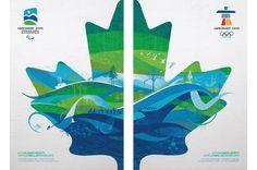 Il doppio poster di Vancouver 2010