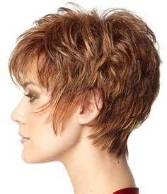 short hair styles for women over 50 thin gray hair - Love the body & the back. Not as long on cheek/front of ears.
