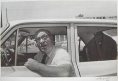 William Eggleston, Untitled (Man in Car) 1968, Silver Gelatin Print