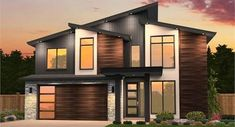 The Vogue 3423 - 4 Bedrooms and 2 Baths | The House Designers