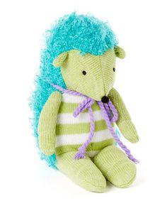 Look at this #zulilyfind! Hildy the Hedgehog Plush Toy by Monkeez and Friends #zulilyfinds