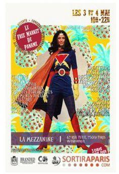 """Toute l'équipe d'Isabelle Moreau - """"Because Paper Rocks"""" sera présente au Free Market de Paname  !!! Des artistes, des concerts... et nous :-)) !! Passez donc !"""