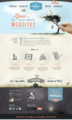 Isadora Design - award winning web design company - Webdesign inspiration www.niceoneilike.com