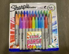 Sharpie Colors, Sharpies, Cute Crop Tops, School Supplies, Pens, Planners, Markers, Beautiful Flowers, Journals