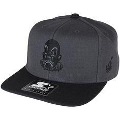 Joker Brand X Starter Snapback Cap grey/black