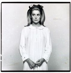1960s - Youthquake divided the decade, which progressed from helmet-like bouffants to hippie hair. As the decade wore on, makeup became a means of artistic expression. Pale lips contrasted with a dramatic eye (epitomized by Catherine Deneuve), and eyelashes reached unparalleled lengths.