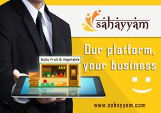 Sahayyam.com provide support and a platform for small business.  An opportunity to trade online  Our platform, your business www.sahayyam.com #Ecommerce #ShopOnline