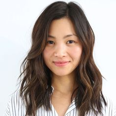 """The Raddest Fall Haircut Trends From L.A.'s Top Stylists #refinery29  http://www.refinery29.com/la-fall-hair-cut-inspiration#slide-1  Stylist: Anh Co TranSalon: Ramirez   TranWhat to ask for: A mid-length, soft, A-line cut with long layers""""This is an in-between length that was once thought to..."""