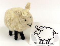 Nancy softie pattern. Great cute ewe to make!