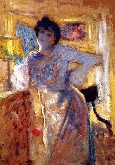 Madame Hessel Edouard Vuillard - circa 1905 (by BoFransson)
