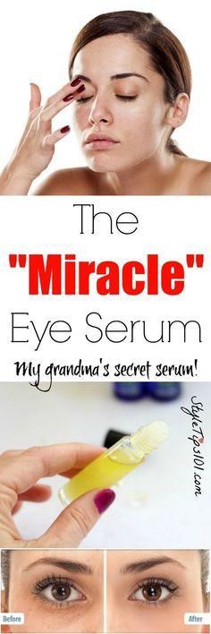 Homemade Eye Serum