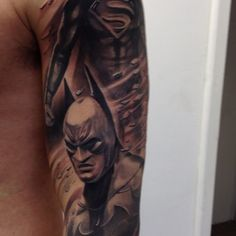 1000 images about super hero tats on pinterest super hero tattoos batman and superman tattoos. Black Bedroom Furniture Sets. Home Design Ideas