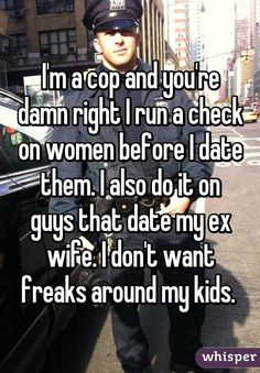 Whisper App.  Confessions from police officers.