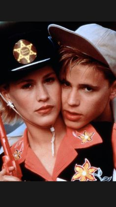 Corey Haim & Patricia Arquette... Movie Prayer of the rollerboys