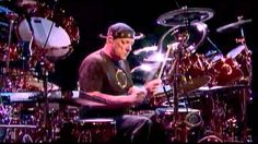 VIDEO: Neil Peart - (Drum Solo) on Letterman 6-9-2011