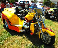 Big Saturday in Millsboro, Delaware.  Okay, it's a motorized trike, but it was there.