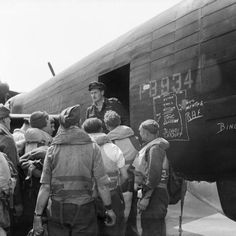 British former prisoners of war prepare to board an Avro Lancaster B Mark I, PB934, of No. 582 Squadron RAF at Lubeck, Germany, for repatriation to the United Kingdom.Canadian PO (A) S Jess, wireless operator of an Avro Lancaster bomber operating from Waddington, Lincolnshire carrying two pigeon boxes. Homing pigeons served as a means of communications in the event of a crash, ditching or radio failure.