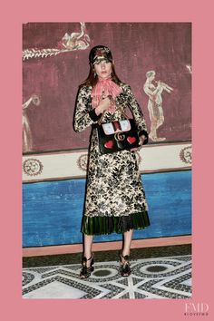 Photo feat. Vera Van Erp - Gucci - Pre-Fall 2016 Ready-to-Wear - Lookbook | Brands | The FMD #lovefmd