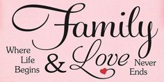 SVG DXF & PNG  Family ..Where life begins and by MyFunkyFarmHouse