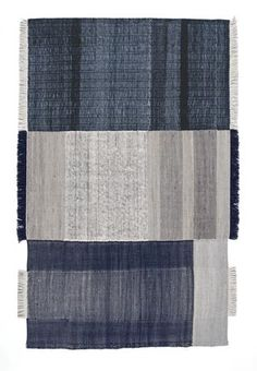 Tres Blue - Rug from Nanimarquina Tres Collection