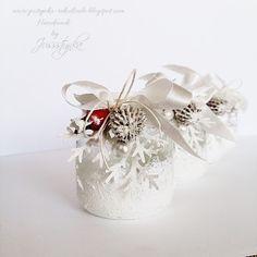 Handmade by Jussstynka: Magiczny blaska cd.